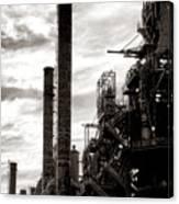 Mighty Bethlehem Steel Canvas Print