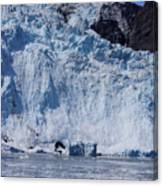 Mighty Holgate Glacier Canvas Print