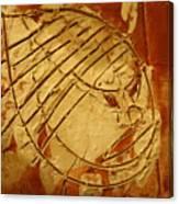 Mighty Masaai - Tile Canvas Print
