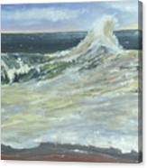 Mighty Nauset Wave Canvas Print