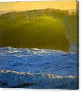 Mighty Ocean At Sunrise Canvas Print