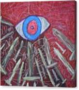 Migrain Canvas Print