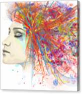 Migraine Canvas Print