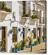 Mijas - Costa Del Sol   Spain Canvas Print