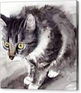 Mike Mice Catcher Canvas Print