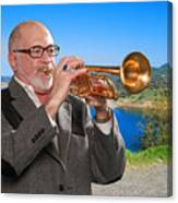 Mike Vax Professional Trumpet Player Photographic Print 3761.02 Canvas Print