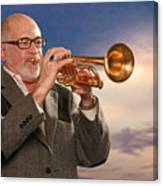 Mike Vax Professional Trumpet Player Photographic Print 3765.02 Canvas Print