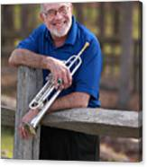 Mike Vax Professional Trumpet Player Photographic Print 3766.02 Canvas Print