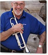 Mike Vax Professional Trumpet Player Photographic Print 3770.02 Canvas Print