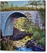 Mike's Keystone Bridge Canvas Print