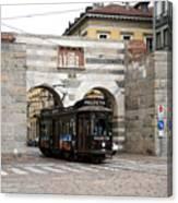Milan Trolley 5 Canvas Print
