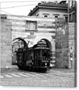 Milan Trolley 5b Canvas Print