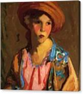 Mildred O Hat Canvas Print