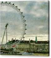 Milennium Wheel Canvas Print