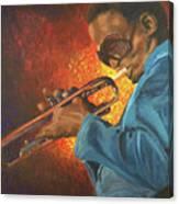 Miles Canvas Print