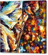 Miles Davis - Gold Trumpet Canvas Print