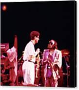 Miles Davis Image 9  With Bob Berg  Canvas Print