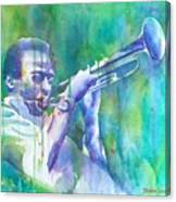 Miles Is Cool Canvas Print