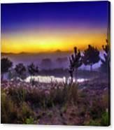 Milfontes Sunrise Canvas Print
