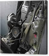 Military Vehicle Radio Canvas Print