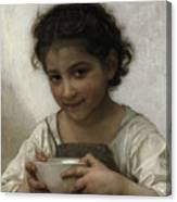 Milk Soup Canvas Print