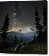 Milky Mountain Canvas Print