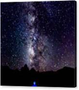 Milky Way 9962 Canvas Print