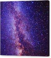 Milky Way Splendor Vertical Take Canvas Print