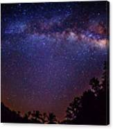 Milky Way Splendor Canvas Print
