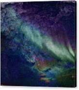 Milkywaynorthernlights Canvas Print