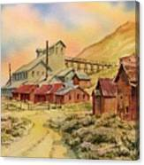 Mill Bodie Ghost Town California Canvas Print