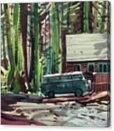 Mill Creek Camp Canvas Print