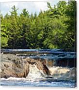 Mill Falls, Kejimkujik National Park, Nova Scotia Canvas Print