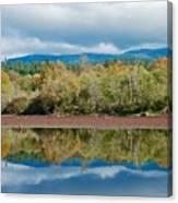 Mill Pond Illusion Canvas Print