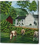 Milldale In Staffordshire Canvas Print