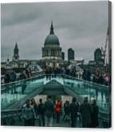 Millennium X St Paul's Canvas Print