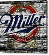 Miller Beer 5b Canvas Print