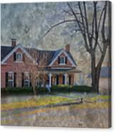 Miller-seabaugh House  Canvas Print
