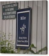 Miller Stable Canvas Print