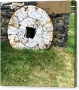 Milling Wheel Canvas Print