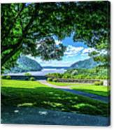 Million Dollar View From West Point Military Academy Canvas Print