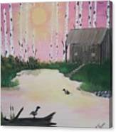 Million Dollar View Canvas Print