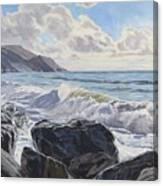 Millook Haven Canvas Print