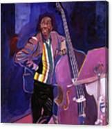 Milt Hinton Jazz Bass Canvas Print