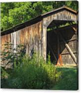 Milton Dye Covered Bridge  Canvas Print