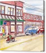 Milwaukie Avenue Canvas Print