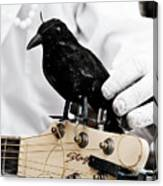 Mime's Guitar Accompanist Canvas Print