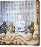 Minature Buddhas Canvas Print