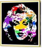 Mind Altering Marilyn Canvas Print