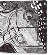 Minds Eye View Canvas Print